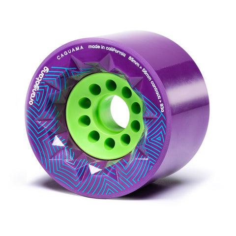 Orangatang Caguama Purple 83a Wheels