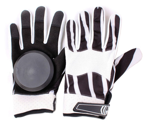 Black & White Slide Gloves