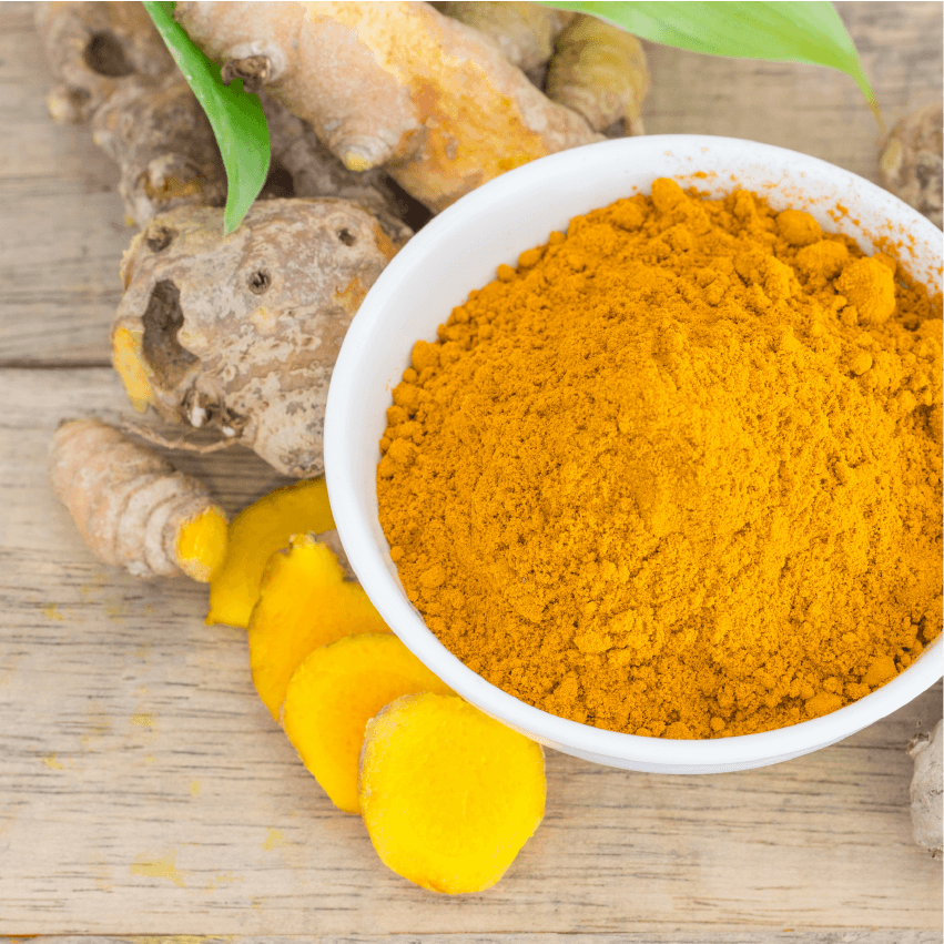 Wound healing with Turmeric
