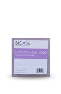 Soap with Colloidal Silver (Lavender)