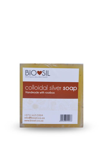 Soap with Colloidal Silver (Rooibos)