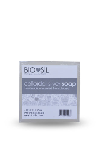 Soap with Colloidal Silver (Natural)