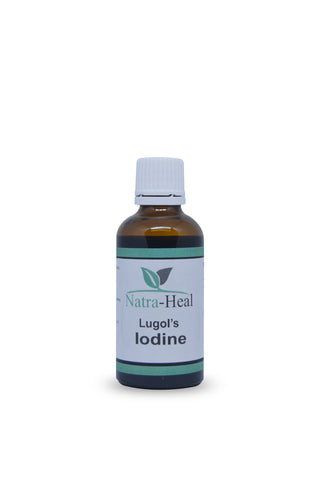 Iodine, Lugols 50ml