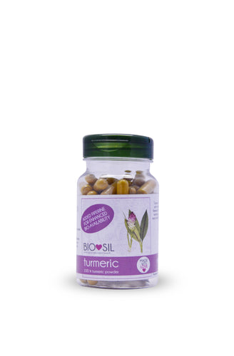 Turmeric Capsules with Piperine
