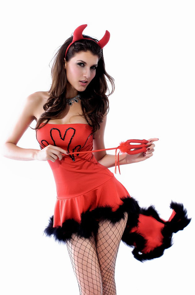 3pcs LIL DEVIL SET - Online Halloween Costume