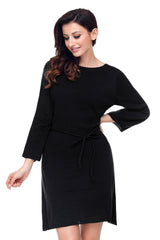 Off The Shoulder Knit - Online Women Sweater Dress