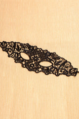 Fashion Hollow-out Lace Halloween - Online Women Mask