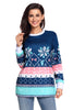 Julep Print Stylish Christmas Jumper - Online Women SWEATERS  & HOODIES