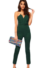 Sexy Jumpsuit with Pleated Bust - Online Women Plus Size Costumes