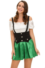 Shamrock Sweetie 2pcs Beer Girl  - Online Women International Costume