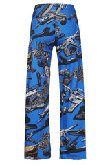 Weapons Caches Cool Print - Online Women Palazzo Pants