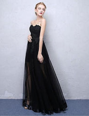 Ball Gown Mesh Satin Chiffon - Online Women Evening Dresses