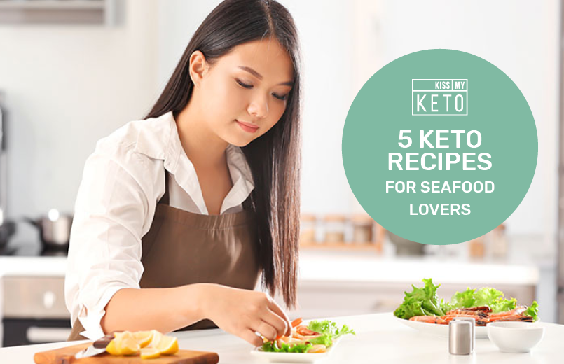 5 Keto Recipes for Seafood Lovers