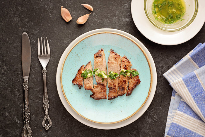 Butter Garlic Steak