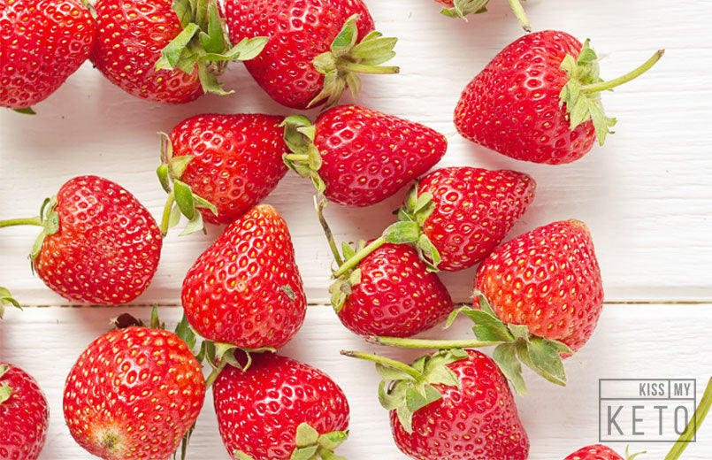 Carbs in Strawberries & Other Nutritional Info - Kiss My Keto