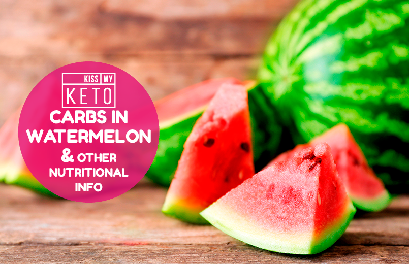 Carbs in Watermelon & Other Nutritional Info