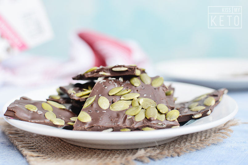 Chocolate Pumpkin Seed Bark