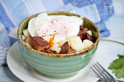 Corned Beef And Cauliflower Hash