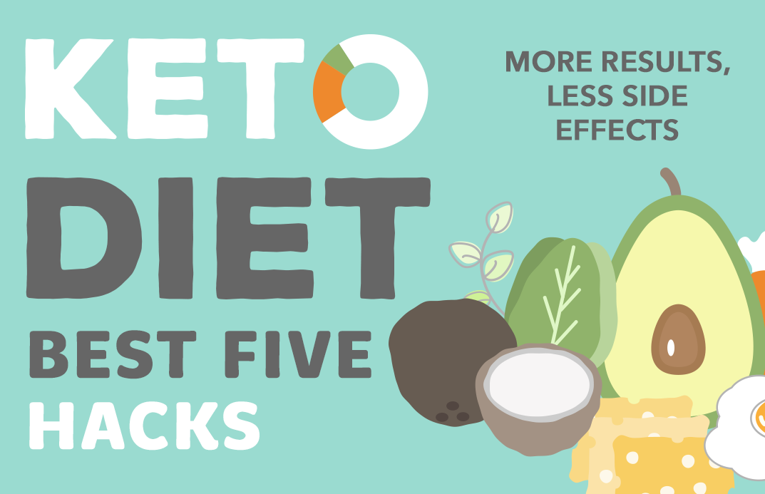 The Best 5 Keto Diet Hacks: More Results, Less Side-Effects