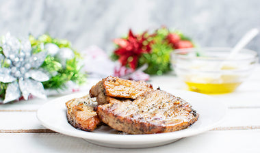 Garlic Buttery Pork Chops