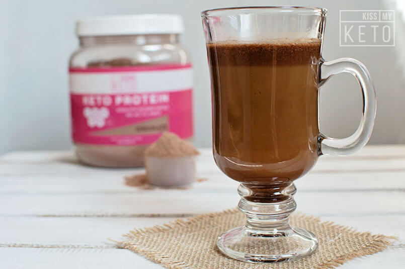 High Protein Decaf Mocha