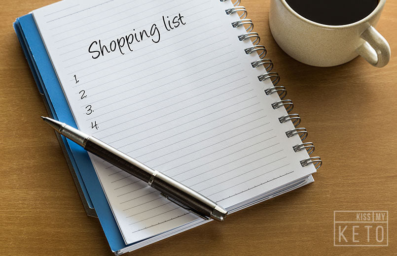 The Complete Low Carb Shopping List for Beginners