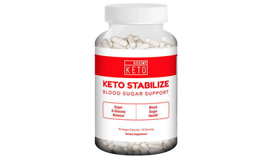 Keto Stabilize – Blood Sugar Support Capsules by Kiss My Keto – 90 Count