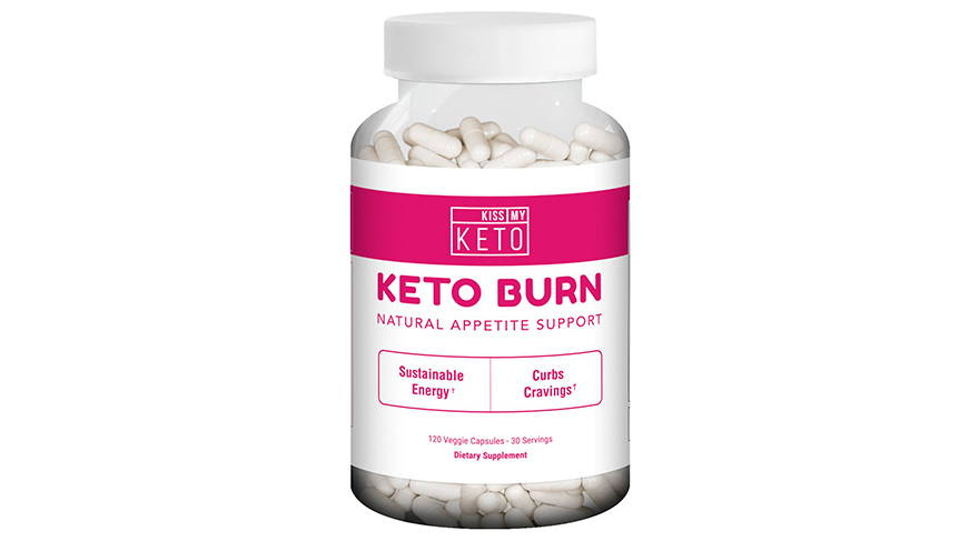 Keto Burn – Appetite Support Capsules (120 Count) by Kiss My Keto