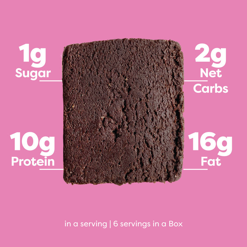 keto brownie nutrition facts