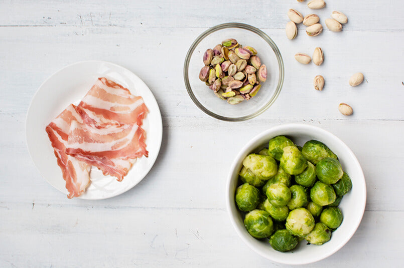Brussels-Sprout-with-Bacon-and-Pistachios-ingredients