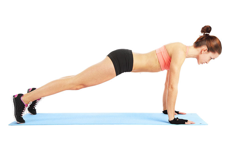 Fit-woman-doing-push-up-exercise