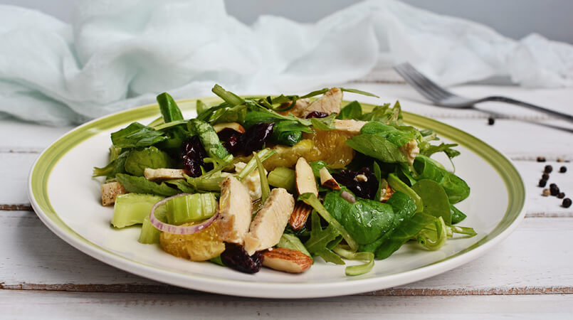Green-Turkey-Salad