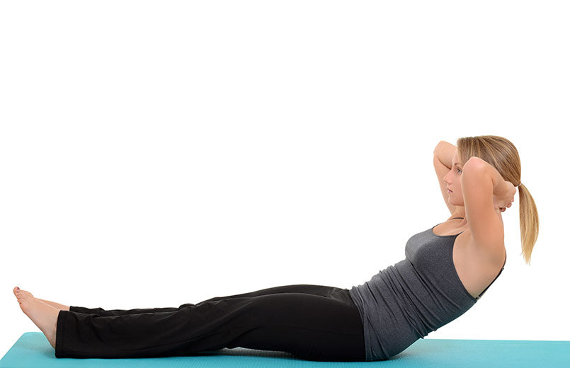 Woman-doing-pilates-neck-pull