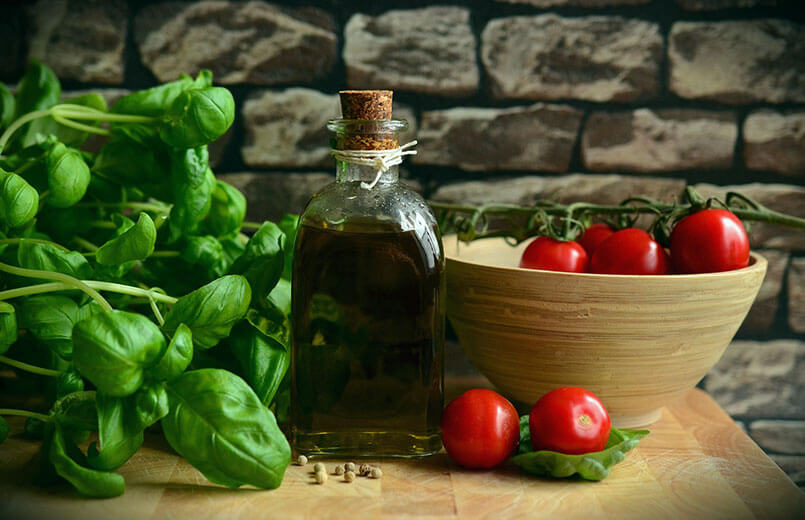 basil-leaves-olive-oil-and-tomatoes-mediterranean-diet