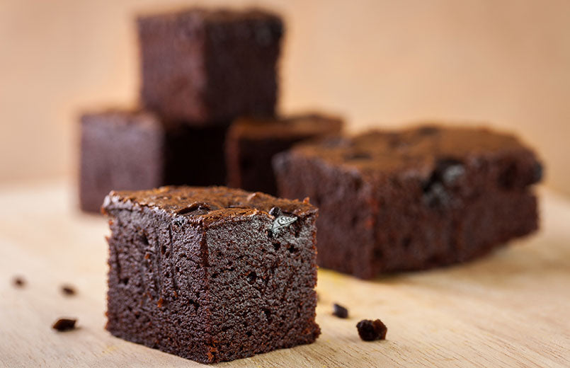 brownies-on-a-wooden-texture