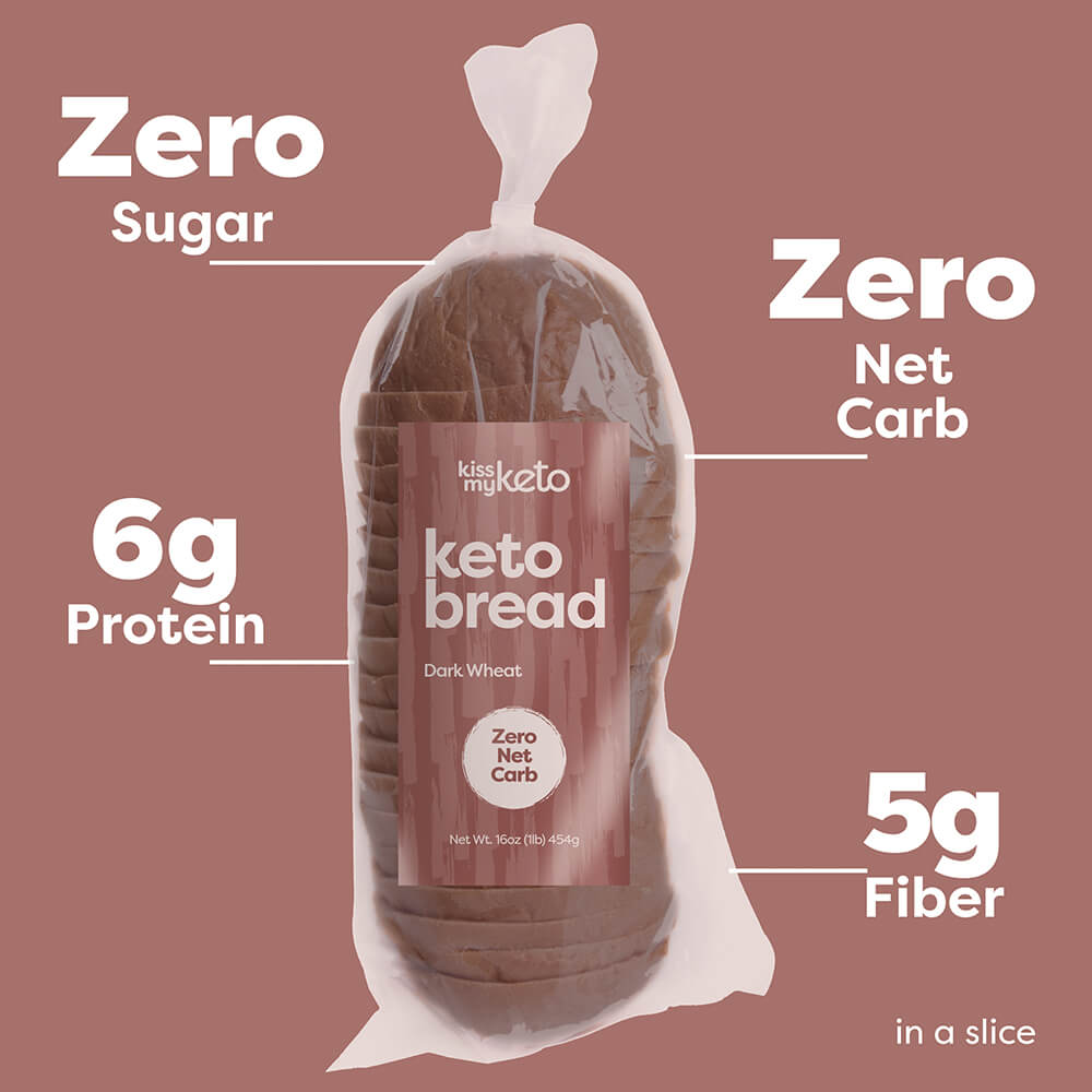keto bread dark wheat nutrition facts