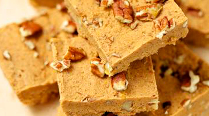 easy_sugar-free_low-carb_pumpkin_fudge