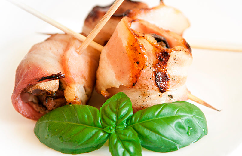 grilled-Bacon-wrapped-mushrooms