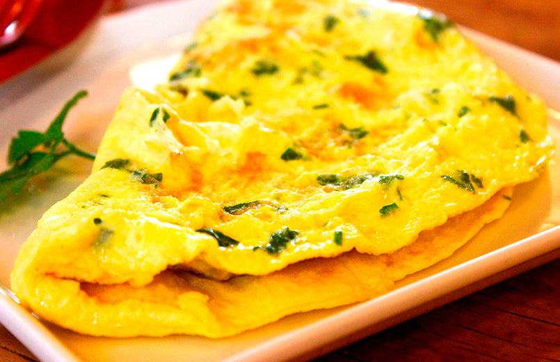 omelette-on-a-plate