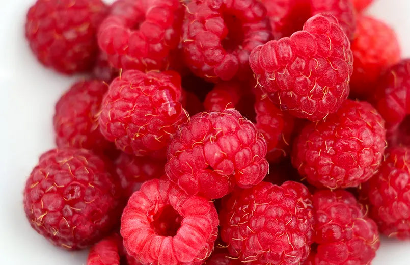 raspberries-on-a-white-background