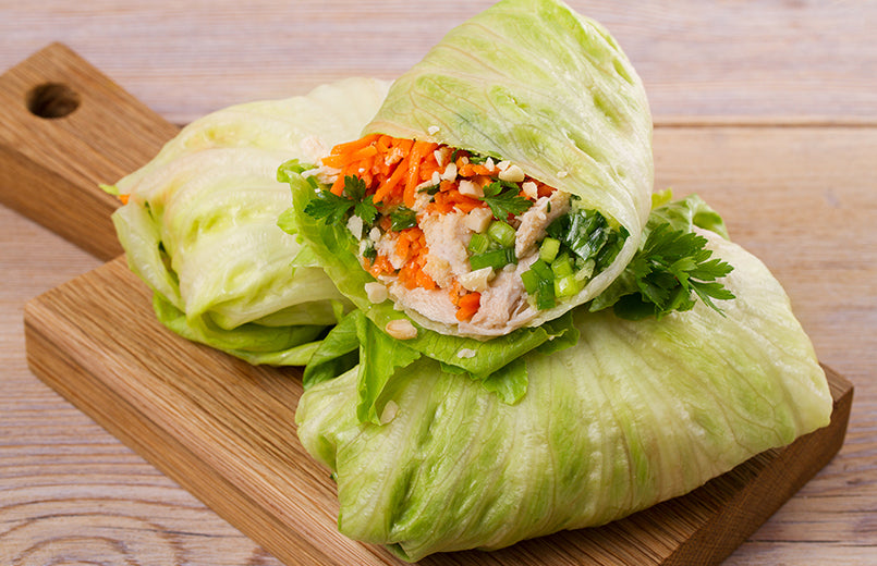 vegetables-wraps-on-wood-table