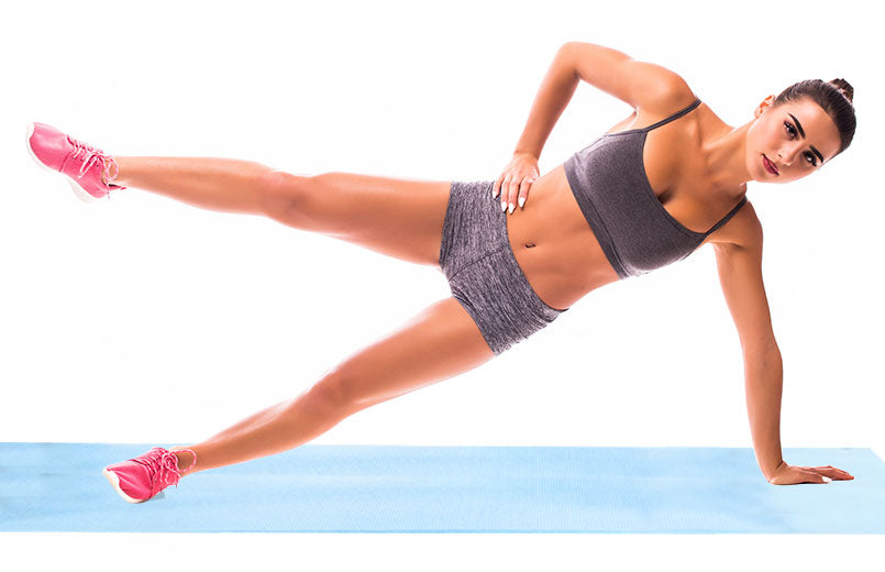 young-woman-doing-exercise-side-plank-with-raised-leg