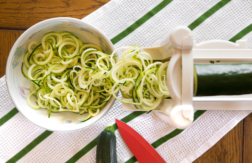 zucchini-cut-into-noodles-in-a-bowl-on-the-table