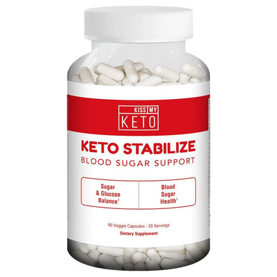 Keto Stabilize - Blood Sugar Support Capsules - 90 Count