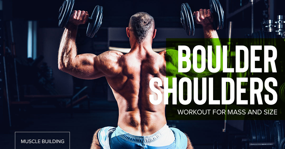 Boulder Shoulders Workout For Size and Mass - Chrome Supplements and