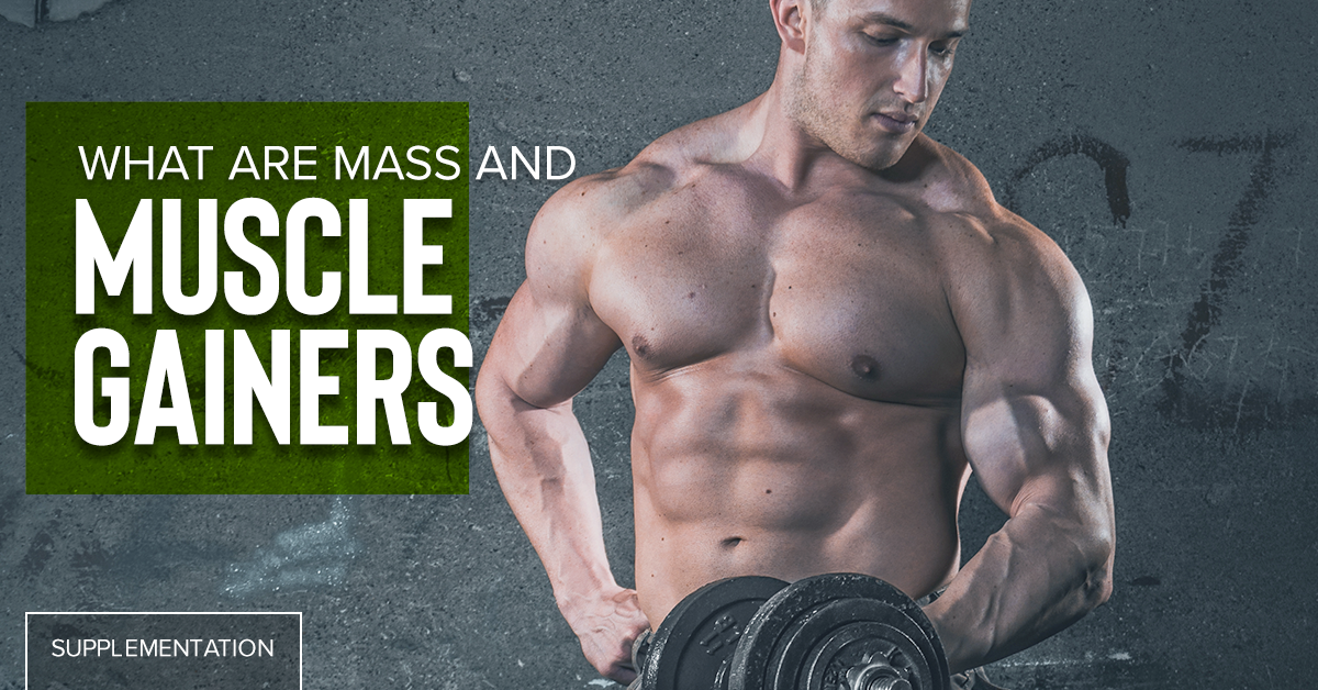 What Are Mass and Muscle Gainers - Chrome Supplements and Accessories