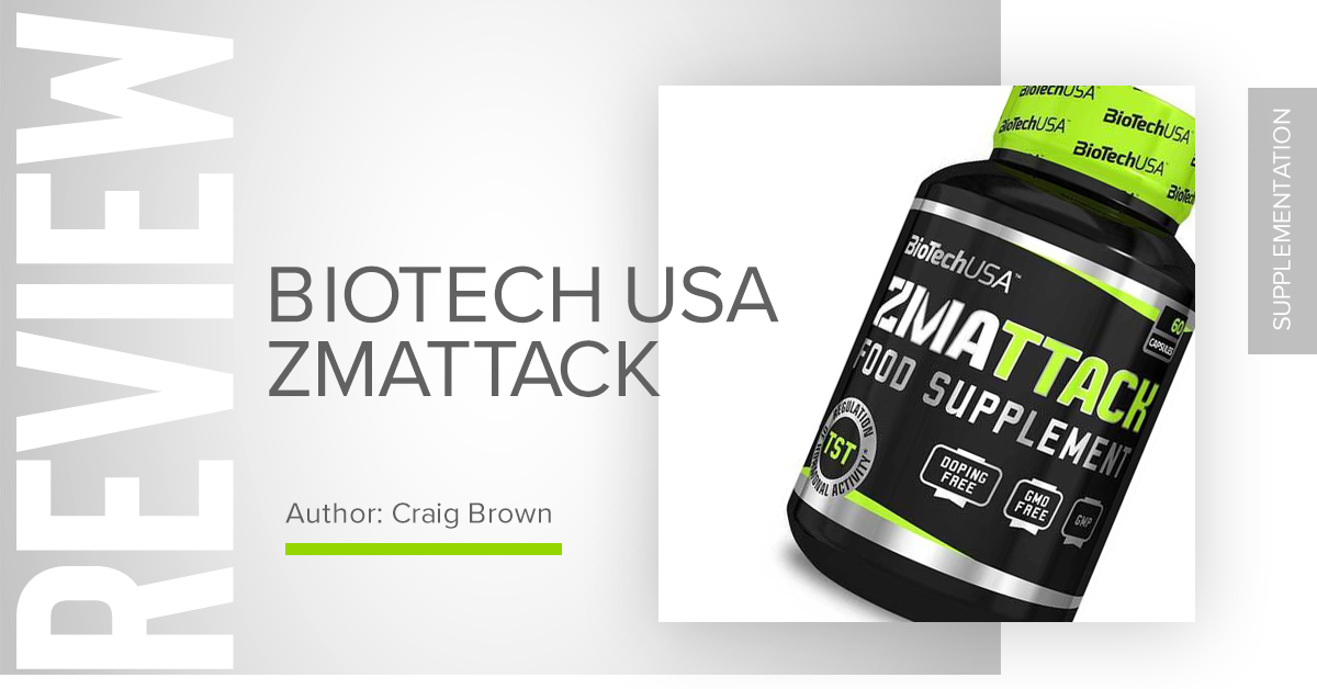 Biotech ZMAttack Review - Chrome Supplements and Accessories