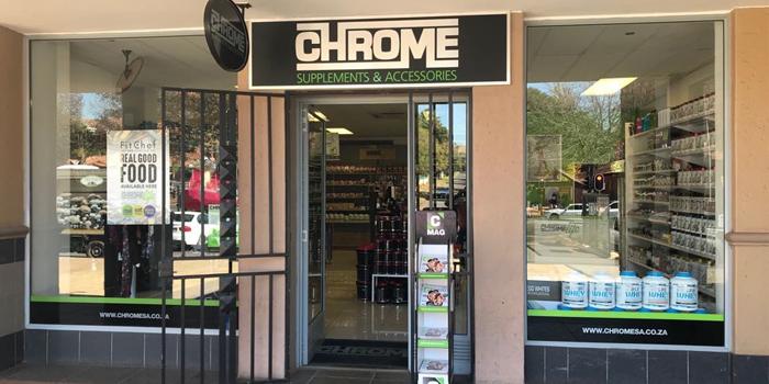 Chrome Bedfordview Shop 25 Bedford Village Cnr Nicol and Van Buuren Rd Bedfordview Tel: 011 450 0415