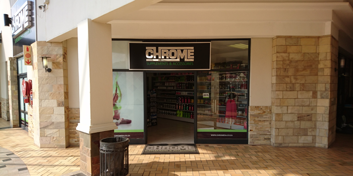 Chrome Brightwater Commons Shop GR0007 Cnr Of Malibongwe Drive & Republic Rd Randburg 	Tel: 011 326 4730
