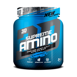 3D Nutrition Supreme Amino [345g] - NEW - Chrome Supplements and Accessories